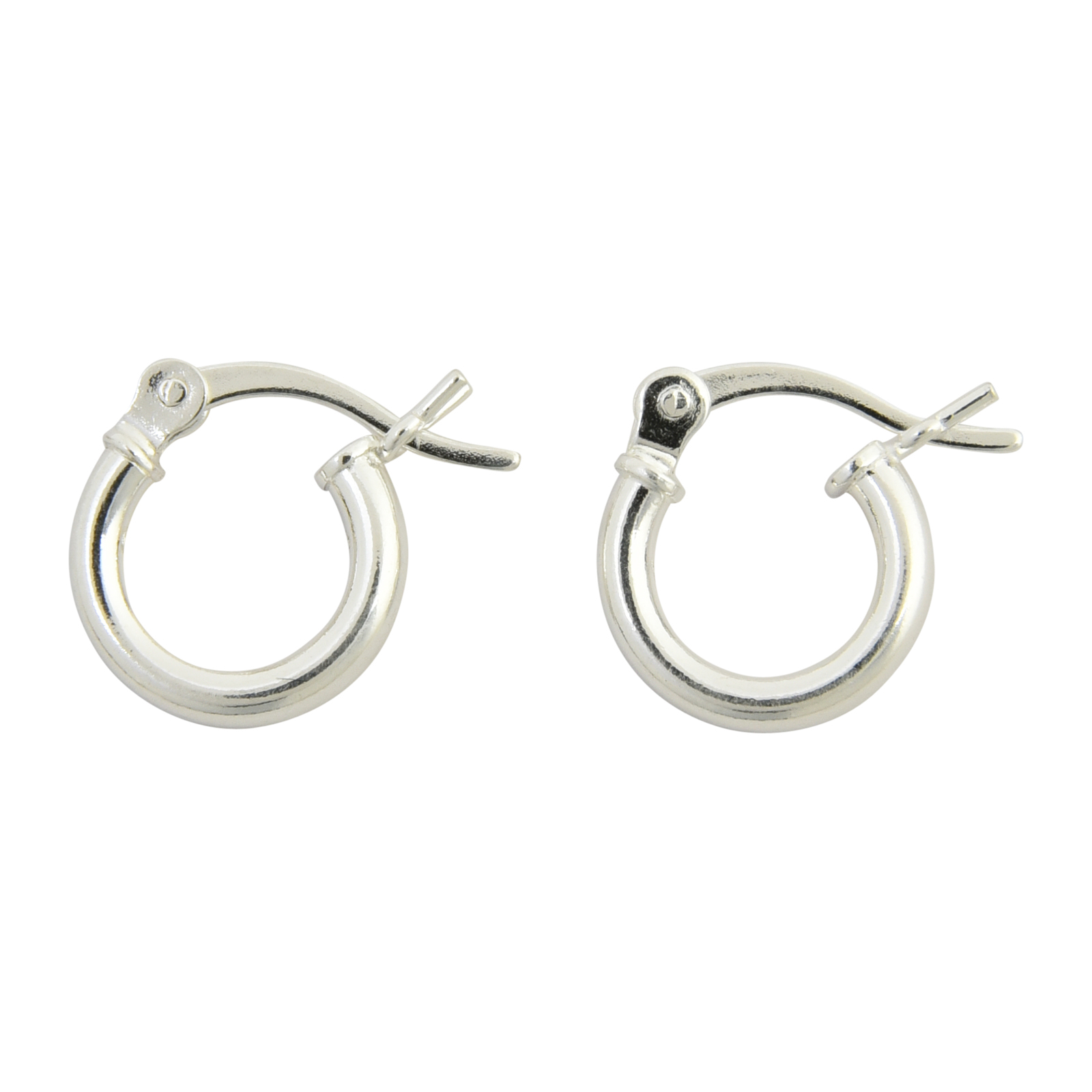 925 Sterling Silver Textured /& Polished Round Hoop Earrings 2mm x 35mm